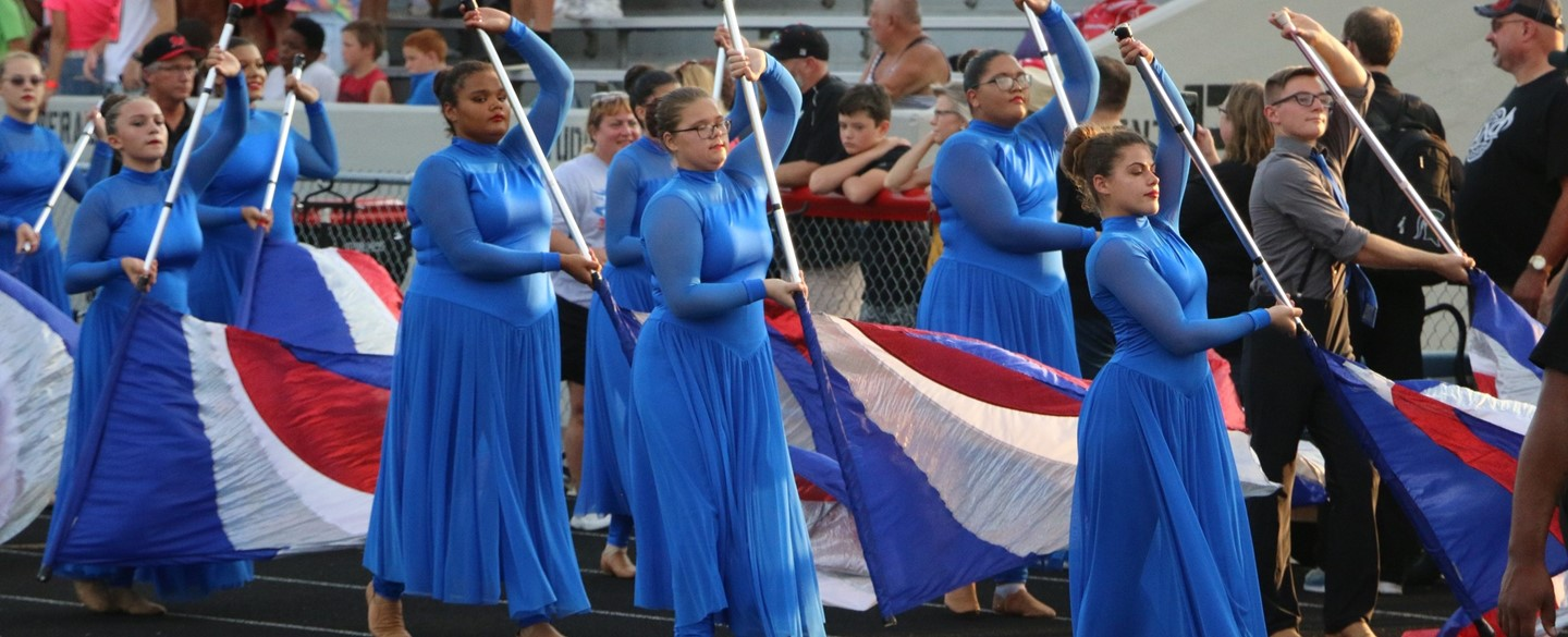 Harding Color Guard