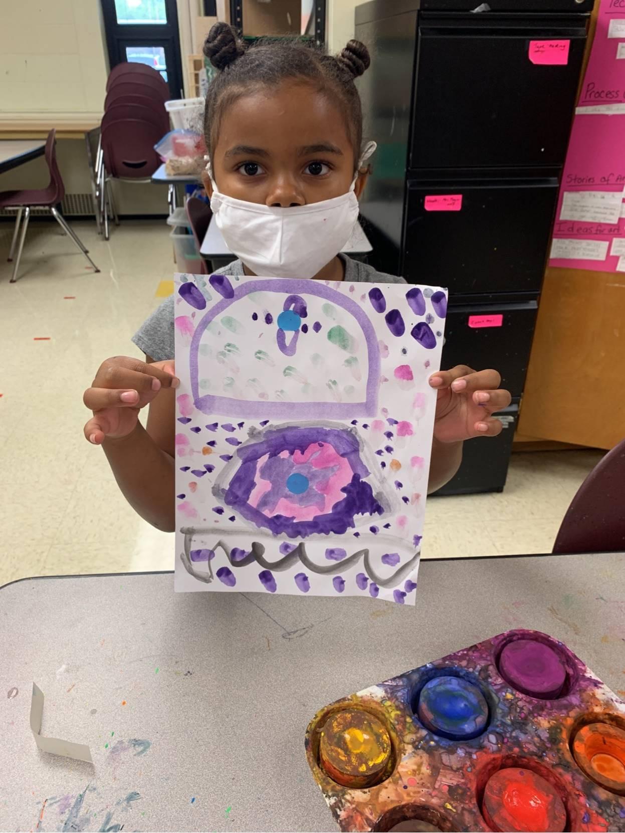 Ameera Jackson - 1st grade - George Washington - 9/13/21