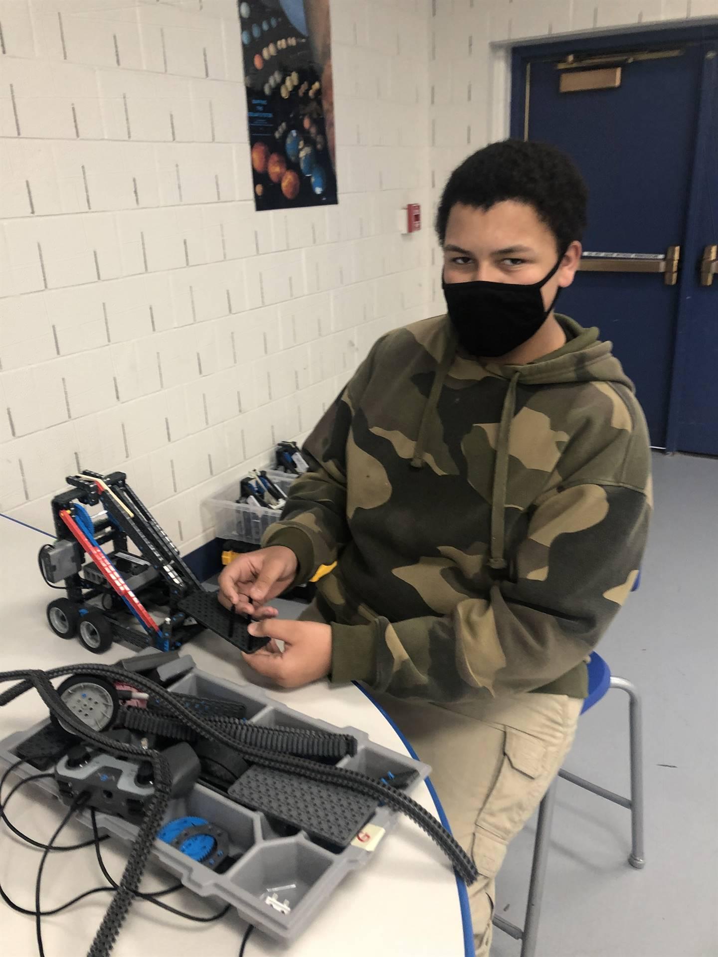 Grant Robotics Student